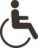 Oktágona beach Accessibility